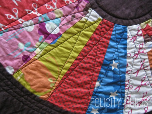 Wonder Wheel quilting