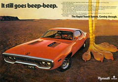 1971 Plymouth Road Runner (coconv) Tags: pictures auto road door old 2 classic cars hardtop car vintage magazine advertising cards photo 1971 flyer automobile post image photos muscle antique album postcard ad picture plymouth images 71 advertisement vehicles photographs card photograph postcards vehicle mopar autos collectible collectors runner brochure automobiles dealer prestige