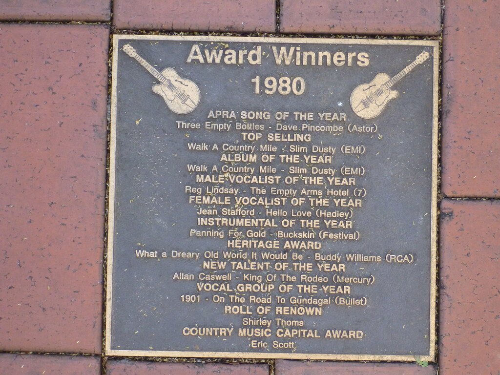 Country music awards 1980, Tamworth