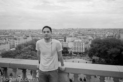 Logan Lo in Paris
