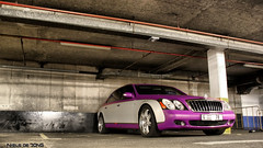 Maybach 62s (Niels de Jong) Tags: street car st silver matt grey purple parking gray mat arab tuning 62 matte supercars brabus paars maybach tuned sloane slone cadogan carplace 62s ndjmedia