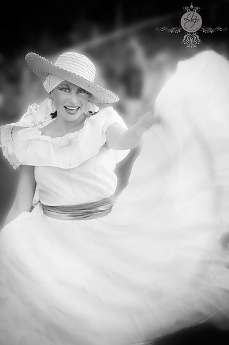 Alegría, folklore y danza by Elizabeth Padilla