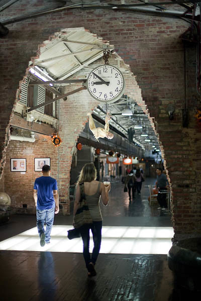 Chelsea Market Arched Walkway