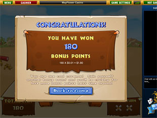 free Cool Stone Age slot bonus feature