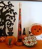 Vintage Halloween Decorations--Noisemakers! (MissConduct*) Tags: decorations house black halloween cat vintage paper pumpkin illinois candle witch jackolantern cottage decoration style indoor catalog kit horn decor planter mache clicker searsroebuck gurley halloweendecorations noisemakers missconduct napco oldglorycottage