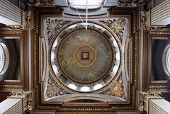 Cupola: The Painted Hall, Old Royal Naval College (Curry15) Tags: london greenwich ceiling dome wren riverthames sirchristopherwren royalnavalcollege oldroyalnavalcollege se10 thepaintedhall kingwilliamcourt alongthethames gradeilisted jamesthornhill stuartarchitecture romneyroad southwestbuilding kingwilliamsquarter