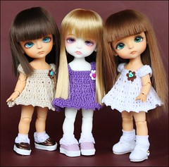 LRRH sweeties :) (*Sweet Days*) Tags: yellow tan tiny miel lea dollfie limited tanned haru ws latidoll lati lrrh dollflower