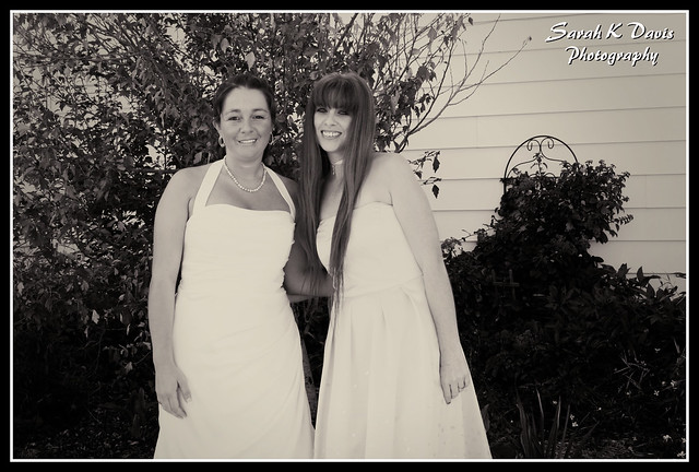 Bride & Matron of Honor