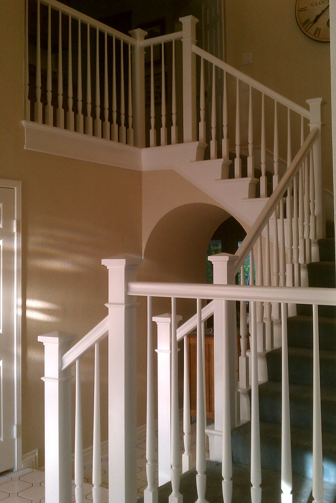PAIL A (k Pinson Stairs) Tags: Stairs Staircase Handrail Remodel  Spiralstaircase Spiralstairs Circularstairs