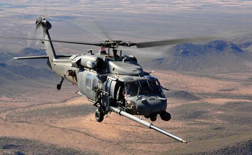 無料写真素材, 戦争, 軍用機, ヘリコプター, HH ペイブ・ホーク, アメリカ軍