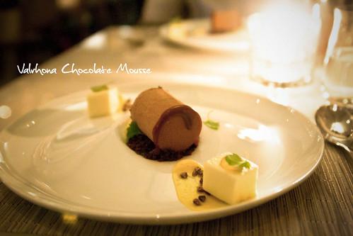 Valrhona milk chocolate mousse