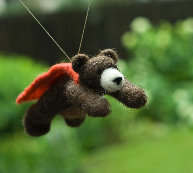 Bear in Flight