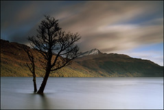Ben Lomond (angus clyne) Tags: park camera wood blue light cloud mountain snow west tree fall glass rain forest photoshop canon dark landscape climb coast scotland highlands high long exposure wind time ben angus hill scottish