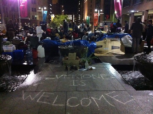 Occupy Sydney - Everyone is Welcome