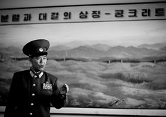 Colonel at DMZ - North Korea (Eric Lafforgue) Tags: wall army war asia korea asie colonel coree dmz 8904 northkorea armee dprk coreadelnorte nordkorea panmunjon    coreadelnord   insidenorthkorea  rpdc  kimjongun coreiadonorte