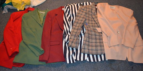 vintage blazers, housing works sale