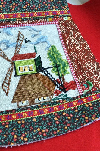 a Dutch windmill bag