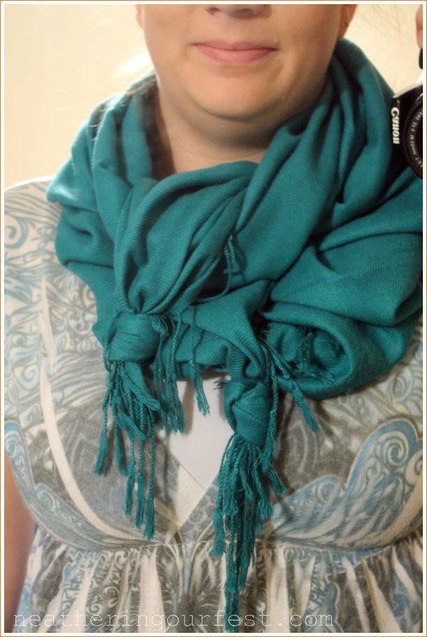 scarf step 6