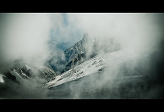 An Alpine view (Paul M. Robinson) Tags: italy snow france mountains alps ice clouds glacier alpine frenchalps helbronner montblancmassif pointehelbronner massifdumontblanc