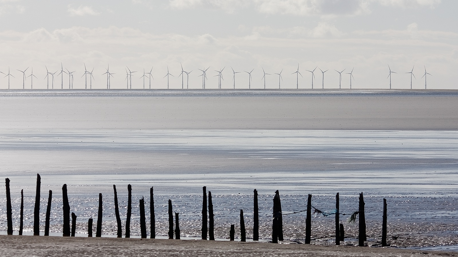 Windfarm on The Solway