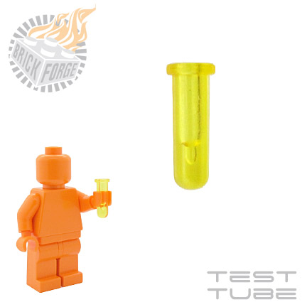 Test Tube - Trans Yellow