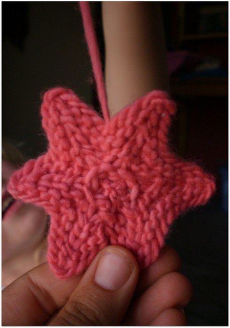 Knitted Star Tutorial