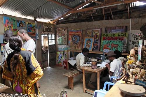 At Maasai Mbili Art Centre