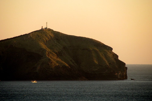 Udo Island from Seongsan Ilchulbong at sunrise