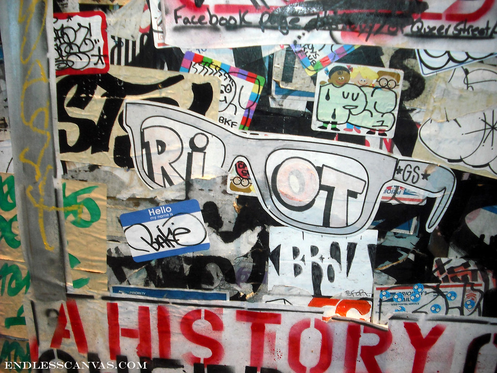 RIOT sticker - San Francisco, Ca