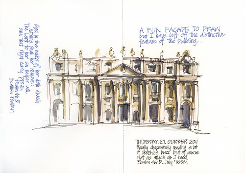 111027 My usual Barouqe sketching therapy by borromini bear