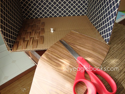 dollhouse wooden floor DIY
