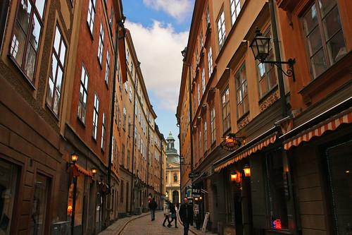 STREETS OF STOCKHOLM  SWEDEN (Gamla Stan) by JaimeAndreu