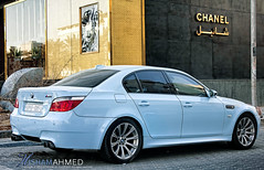 BMW M5 (Hesham Ahmed's) Tags: camera cars car speed canon lens eos aperture exposure 5 efs1855mm iso saudi arabia bmw hh 100 40 mm sec length chanel riyadh m5  1125 f50 ksa focal  ahmeds 2011        hesham  550d     5 hish1