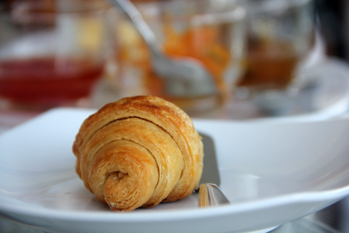 Buttery Croissant for Breakfast