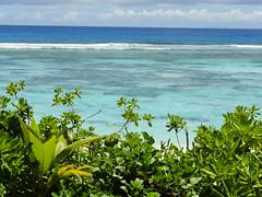 Silhouette Island, Seychelles (travelourplanet.com) Tags: beach silhouette seychelles