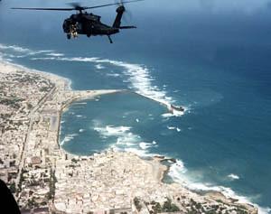 Mogadishu helicopter