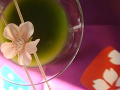 matcha cosmo cherry blossom (seesternrea) Tags: cosmopolitan matcha reafood