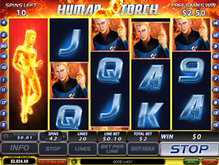 free Fantastic Four slot free spins