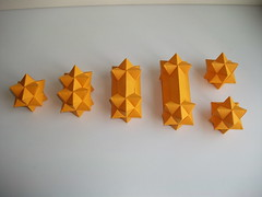Mitosis or Birth of a star (mancinerie) Tags: origami paperfolding modularorigami