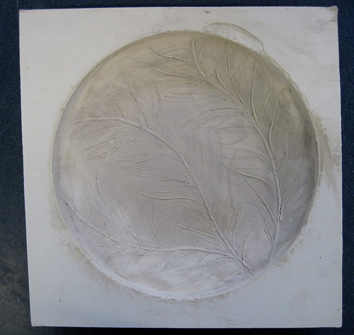 Platemaking - plaster mould