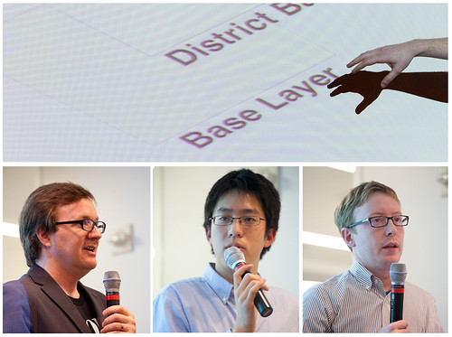 John Keefe, Albert Sun and Jeff Larson explain how they made their maps at Hacks/Hackers NYC