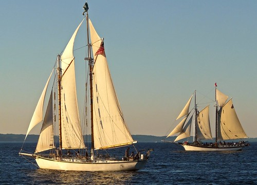 Two Schooners on West Bay (Schoonerfest 2011 1/3)