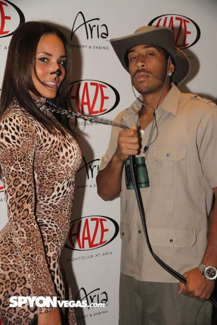 Ludacris-and-Girlfriend-Euxodie-Halloween-Fun
