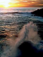 [フリー画像素材] 自然風景, 海, 朝焼け・夕焼け, 風景 - スペイン ID:201111090400