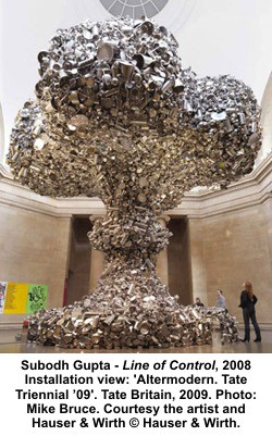 Subodh Gupta - Line of Control, 2008 by artimageslibrary