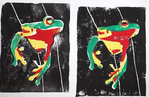Frog Prints