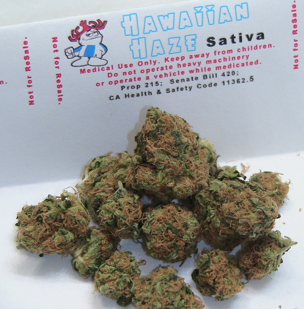 Hawaiian Haze:  Sativa