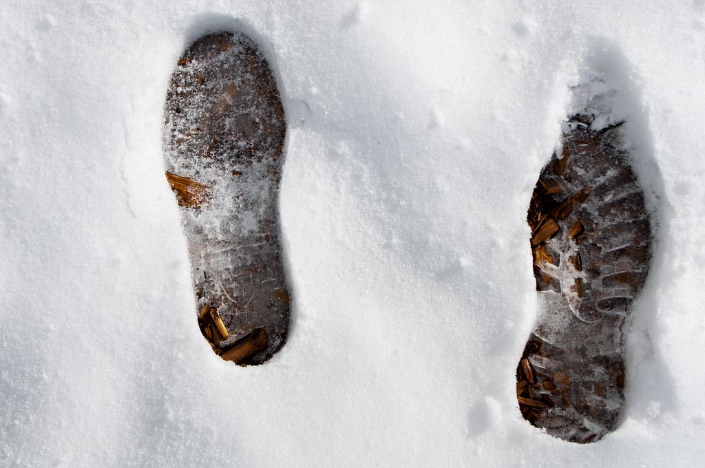 transient footsteps