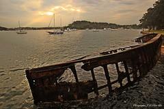 abandon ship (Jong Soo(Peter) Lee) Tags: sunset sydney australia mcmahonspoint sydneysunset flickraward spiritofphotography blinkagain