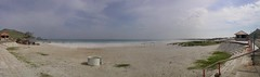 Panorama of Praia Grande (Frans Harren) Tags: brazil panorama beach water brasil riodejaneiro canon rj bra hdr canonpowershotg1 arraialdocabo powershotg1 ptgui 3exp exposurefusion